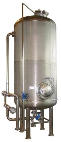 H-катионитовый фильтр используется со всеми типами стационарных кондуктометров